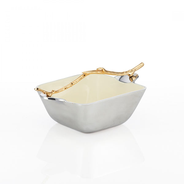 Lodge Square Serving Bowl Oyster