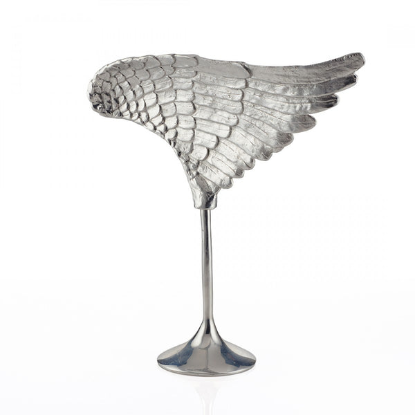Wing Sculpture Silver