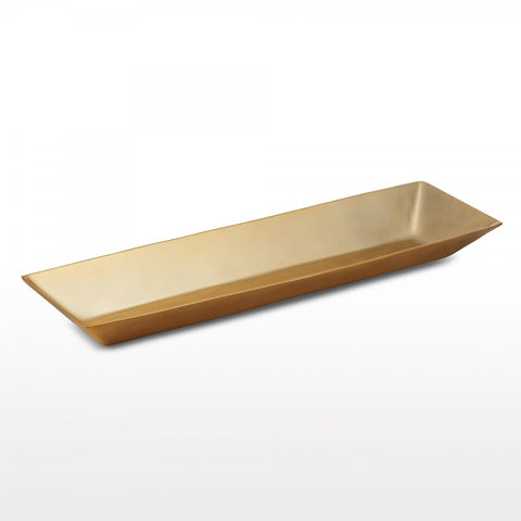 Linea Rectangle Bowl Lg Gold