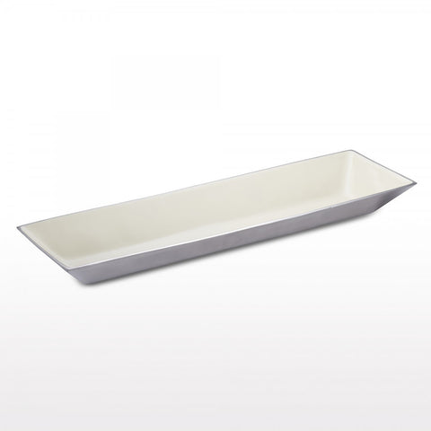 Linea Rectangle Bowl Lg Oyster