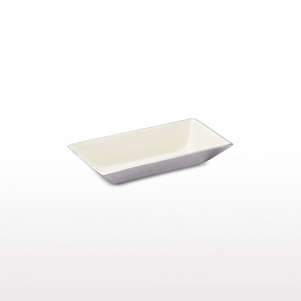 Linea Rectangle Bowl Med Oyster
