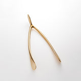 Wishbone Gold Small