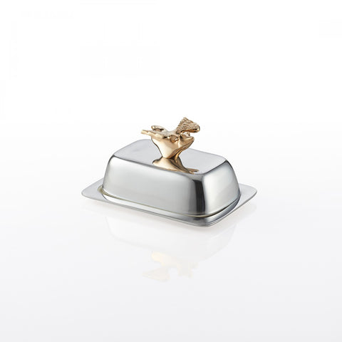 Flying Pig Butterdish