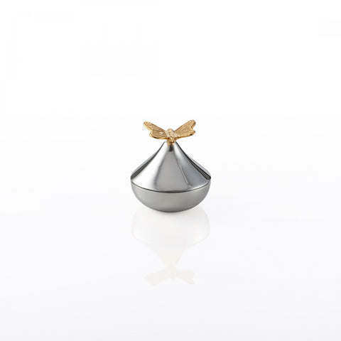 Butterfly Keepsake Box Silver/Gold