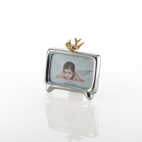 Dove Frame Silver/Gold