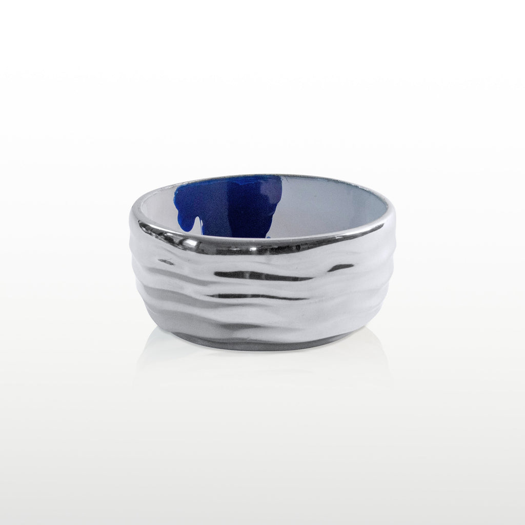 Aquos Nut/ Snack Bowl Blue