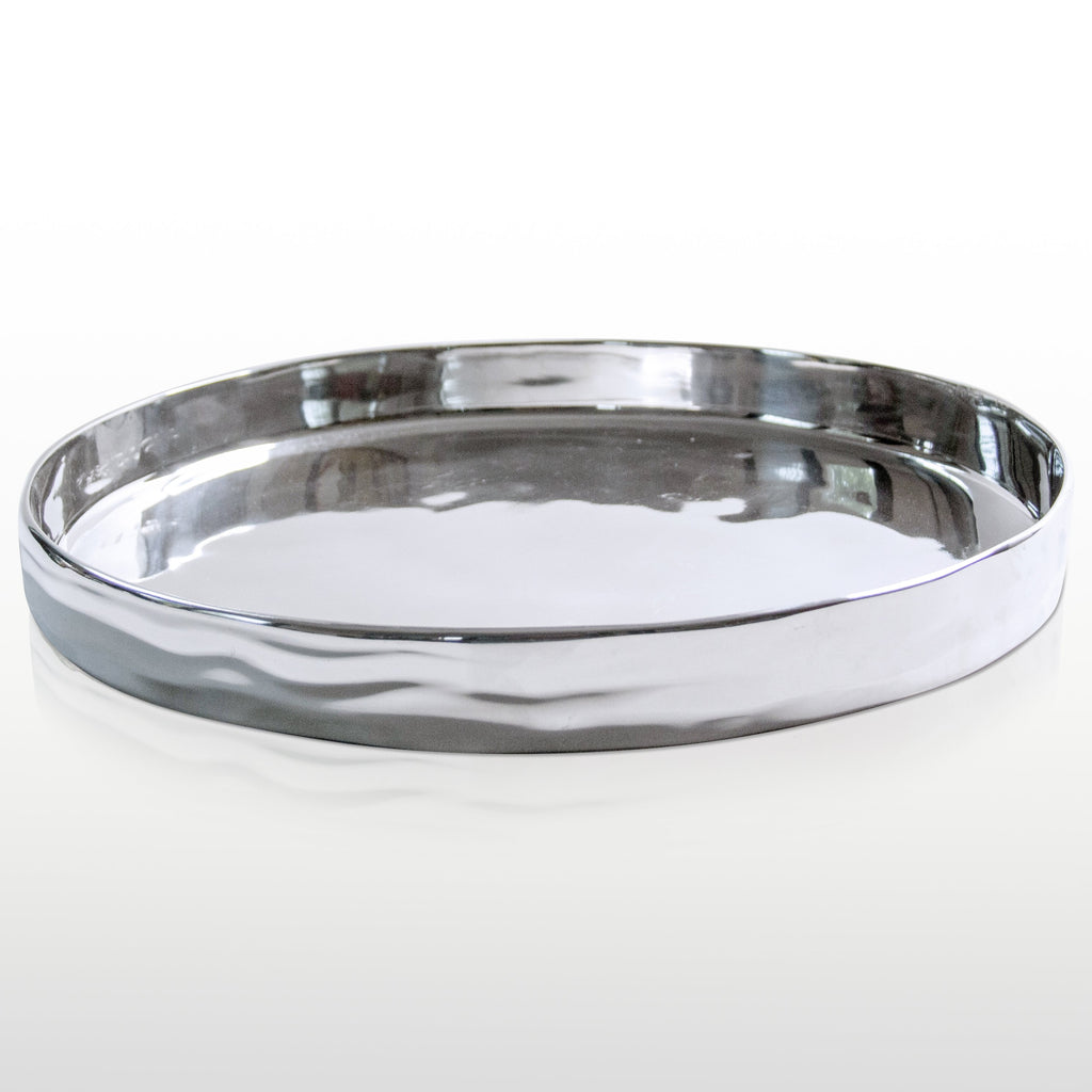 Aquos Round Serving Tray
