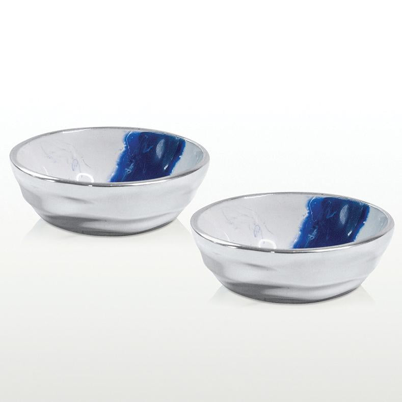 Aquos Salt & Pepper Set/Dipping Bowls Set/2