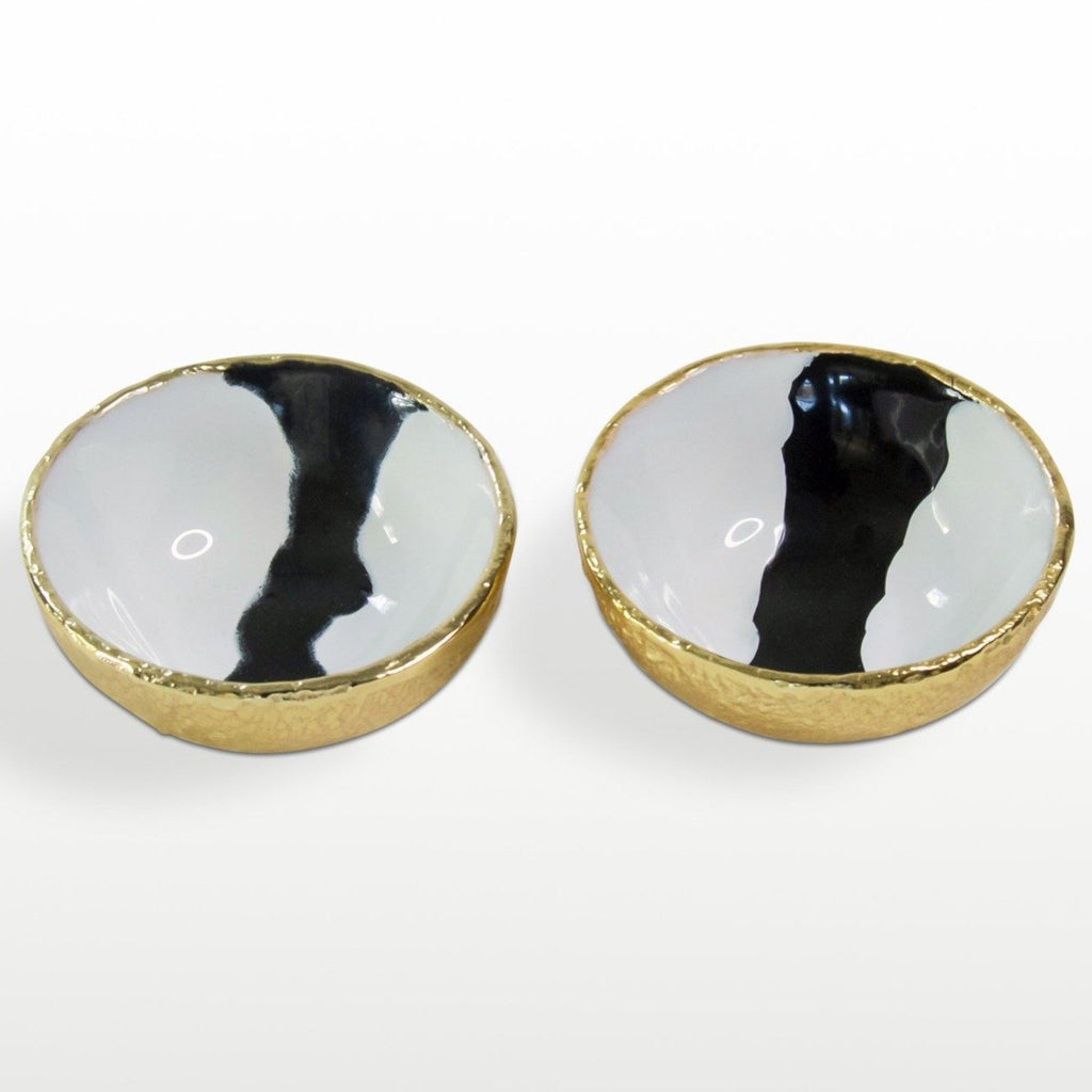 Bianco Nero Salt & Pepper Set