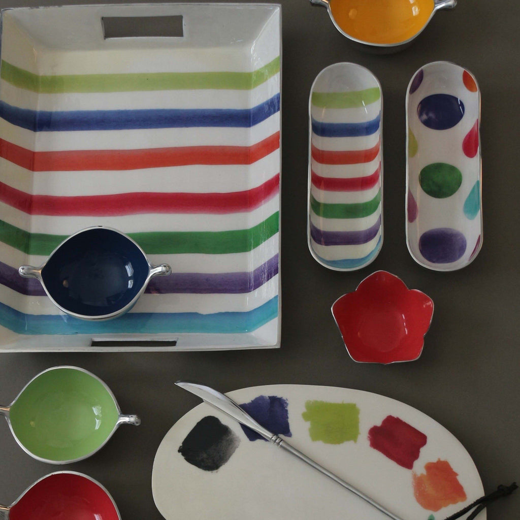 Cracker Trays - Polka/Stripe