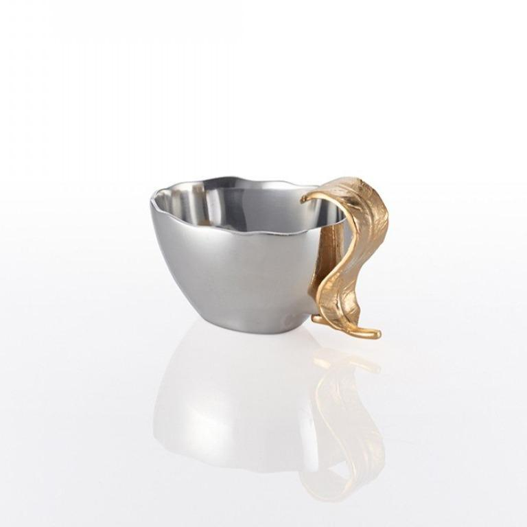 Feather Nut Dish Silver/Gold - Nima Oberoi Lunares
