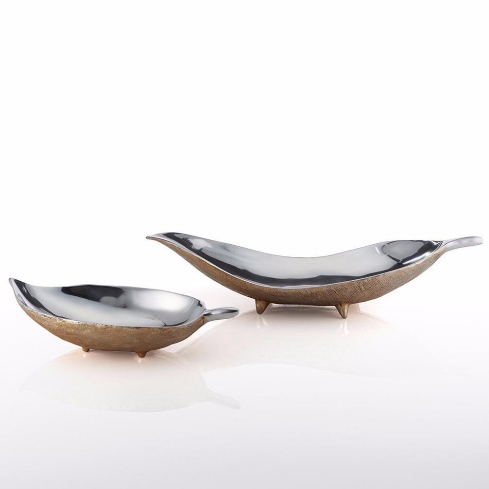Feather Wide Footed Bowls - Nima Oberoi Lunares