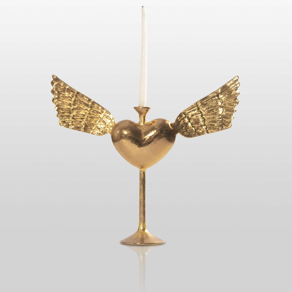 Heart with Wings Candleholder