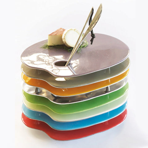 Artist Palette Cheese Set