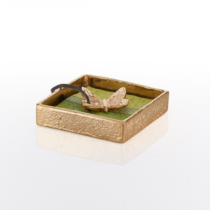 Nest Cocktail Napkin Holder Gold - Nima Oberoi Lunares