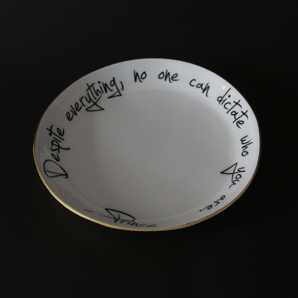 Prince - Bowl with Quote