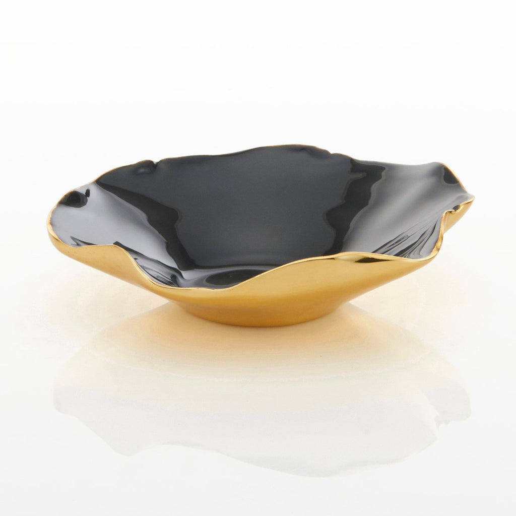 Ruffled Bowl Graphite