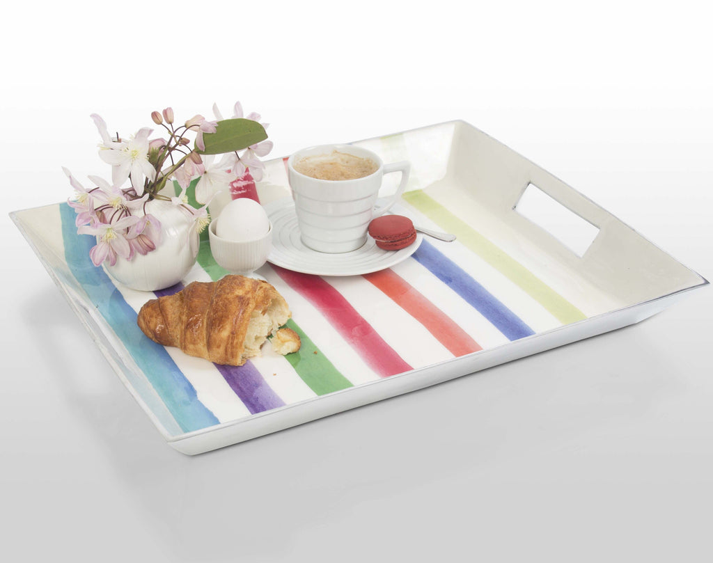 Serving Tray Striped