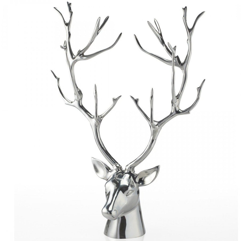 Stag Bust Silver - Nima Oberoi Lunares