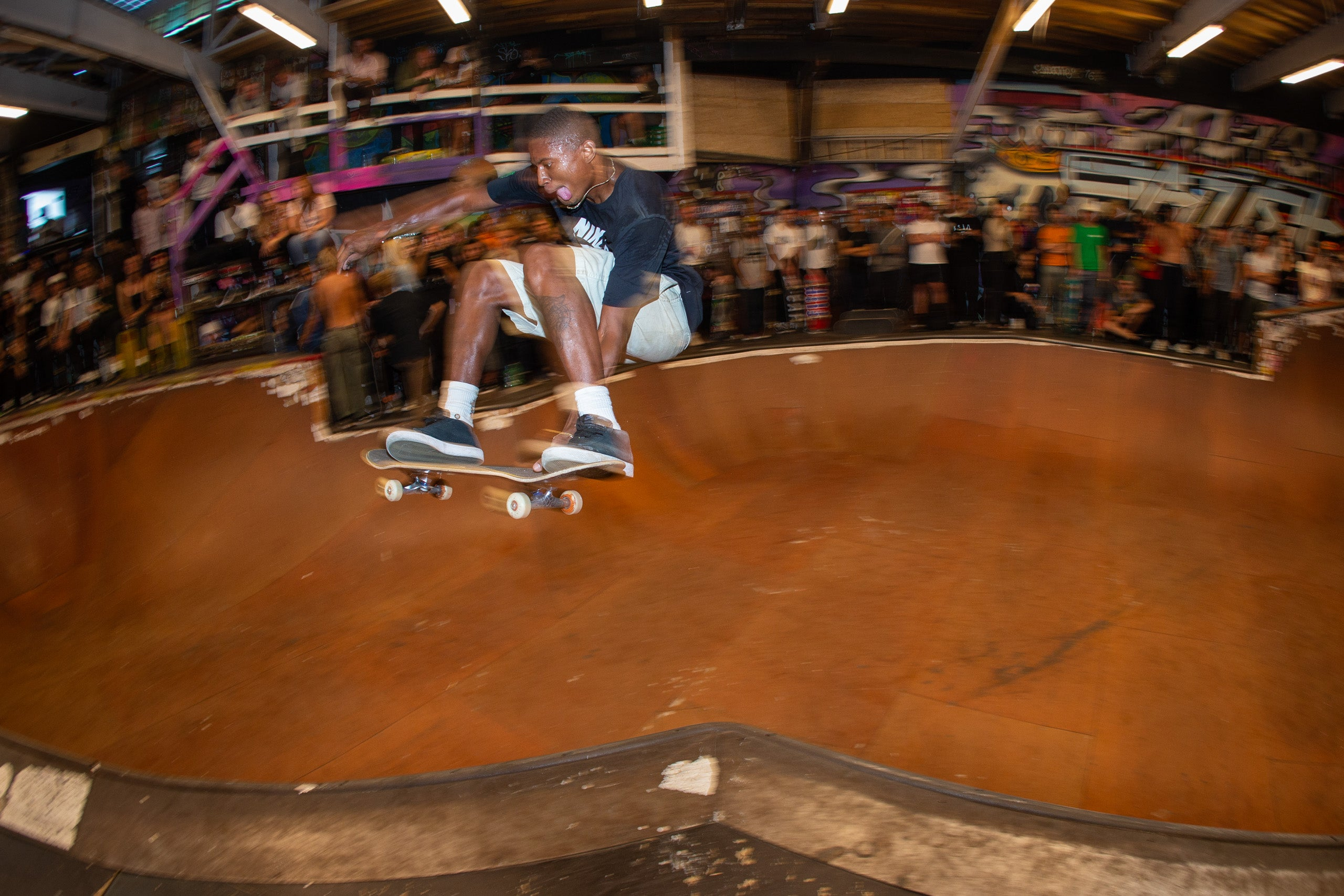Ishod Wair in Alis Wonderland Skate Park 20th Bryce Kanights