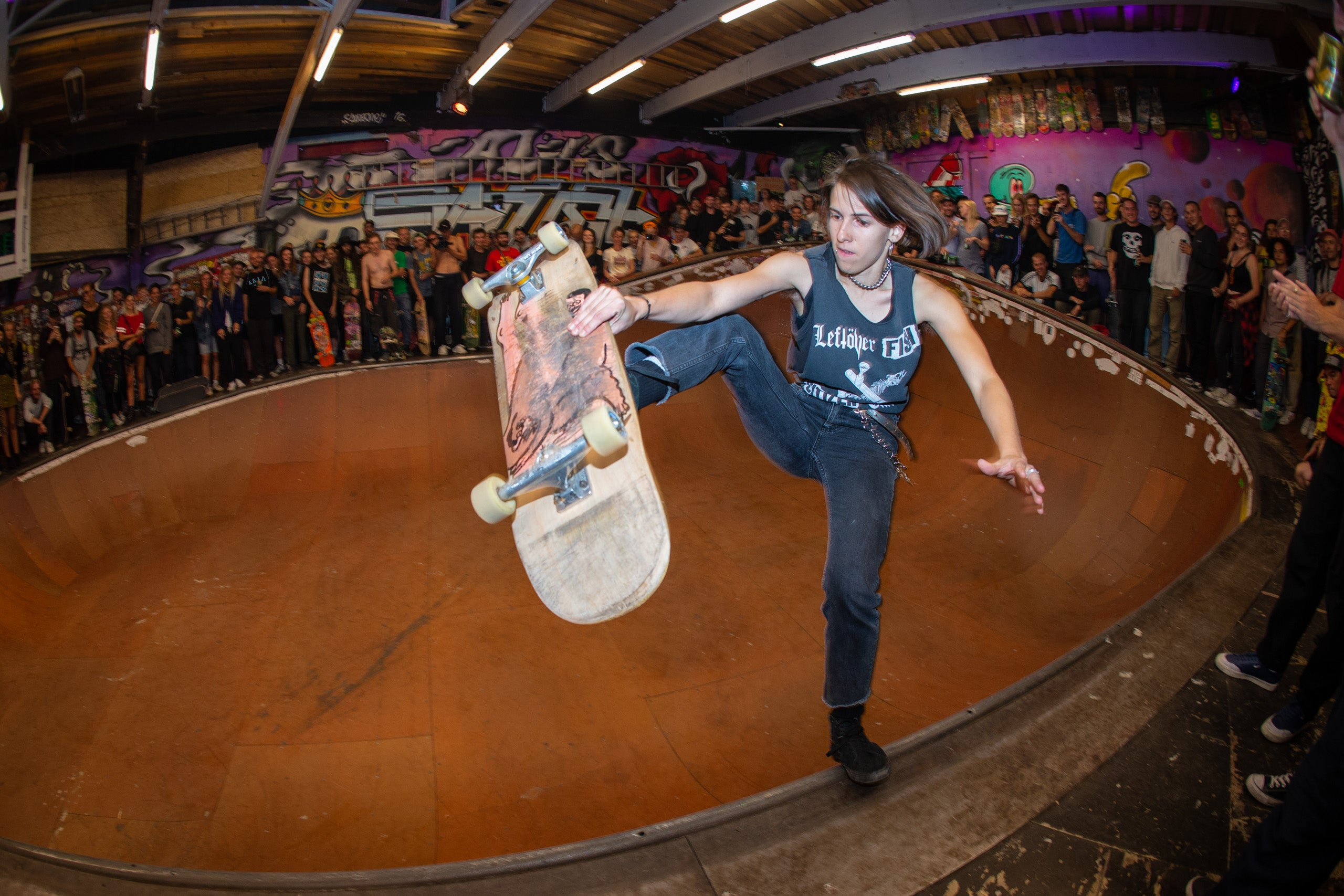 unknown skater in Alis Wonderland 20th Bryce Kanights
