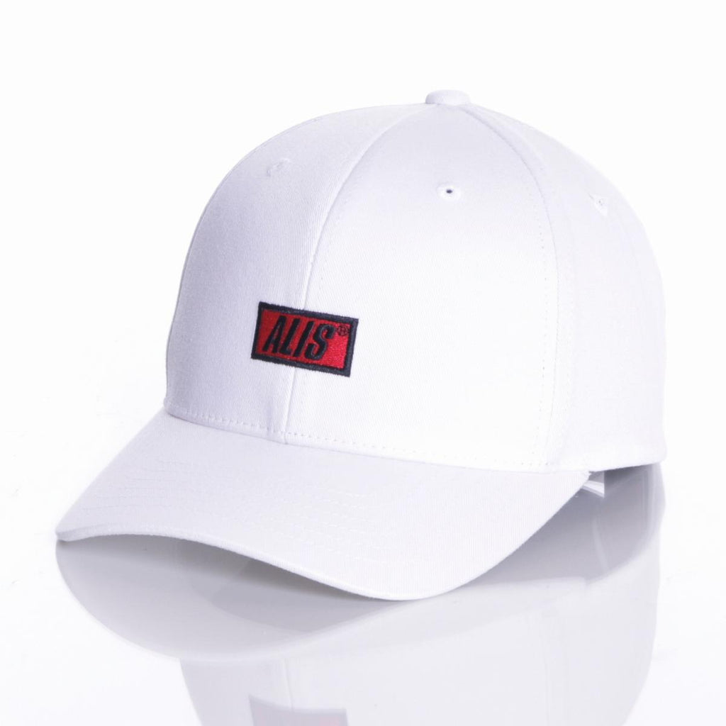 ALIS CLASSIC SNAPBACK CURVED WHITE, front