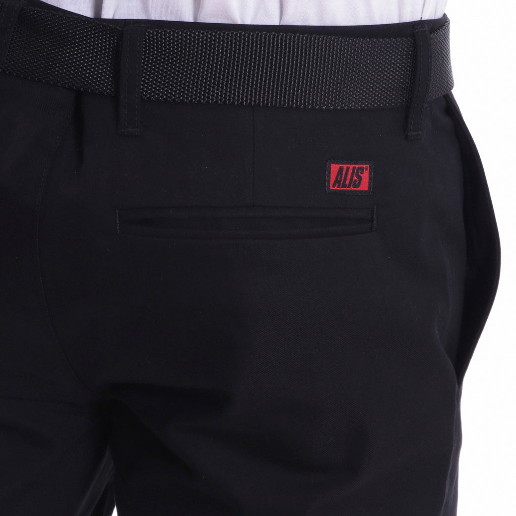 Pocket detail - ALIS CLASSIC BOX LOGO CHINO BLACK