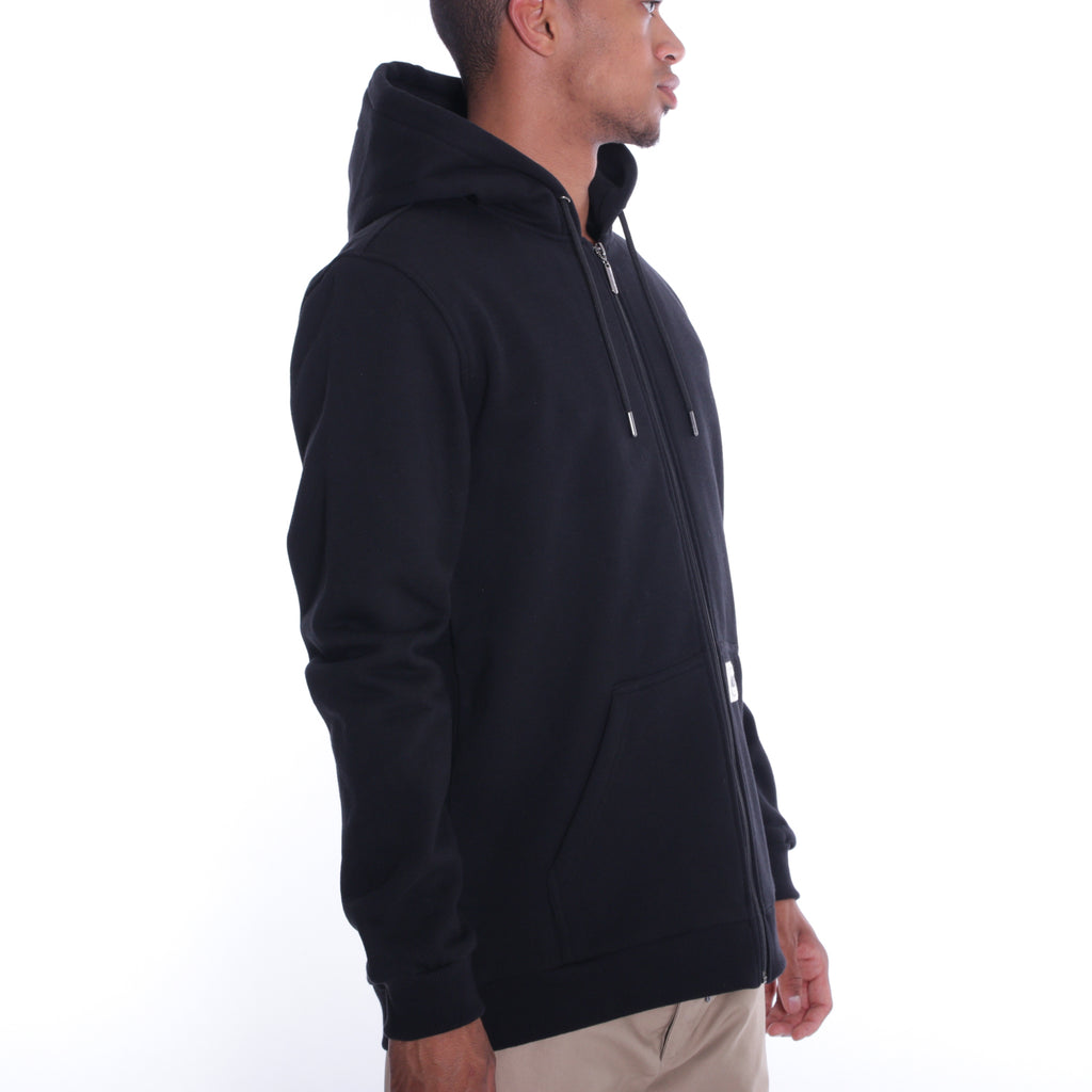 ALIS FREETOWN ZIP HOODIE BLACK, side