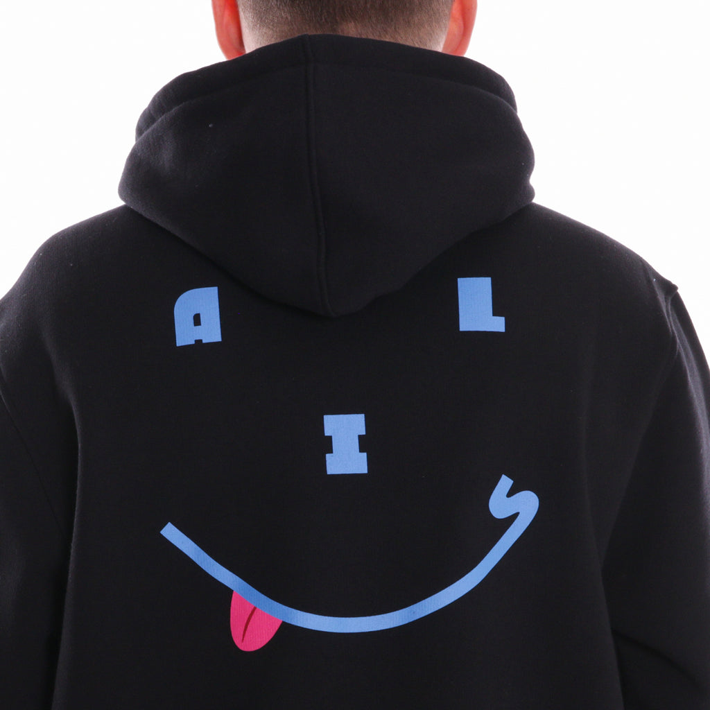 ALIS HAPPY DAYS HOODIE BLACK - Detail