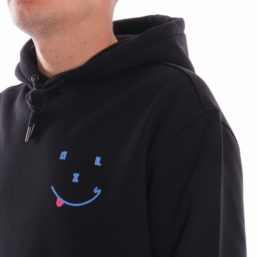 ALIS HAPPY DAYS HOODIE BLACK, detail 2