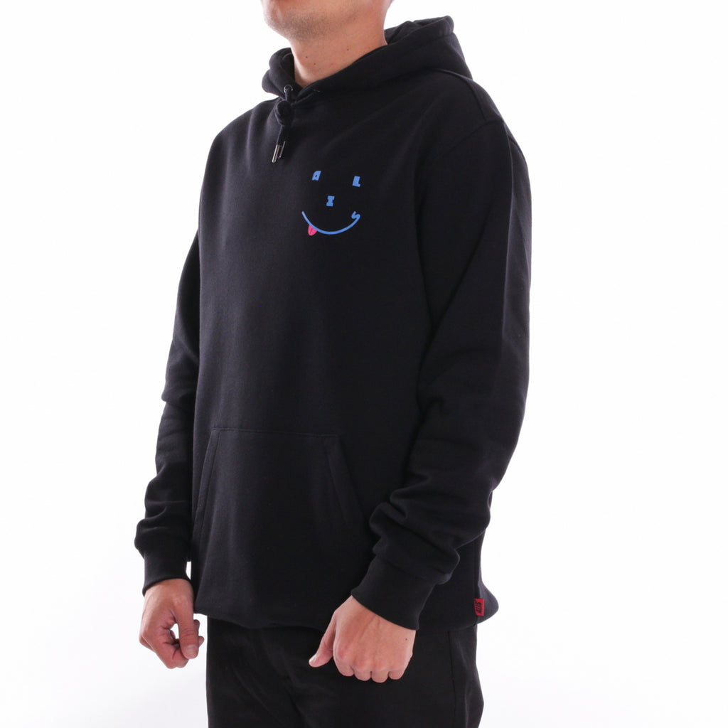 ALIS HAPPY DAYS HOODIE BLACK, side