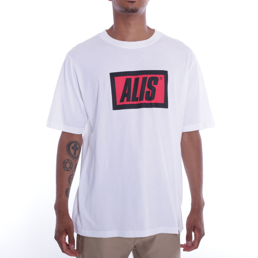 ALIS CLASSIC TEE WHITE, front