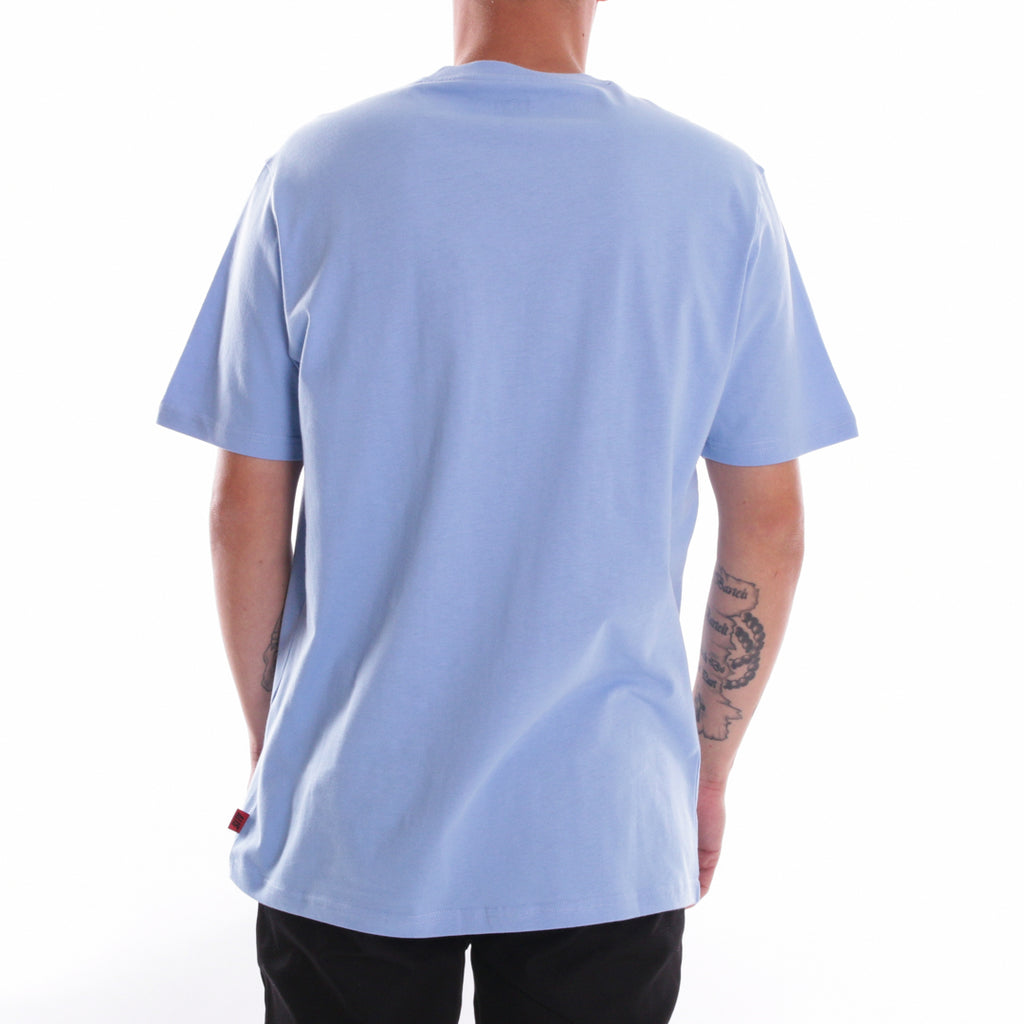 ALIS CLASSIC MINI LOGO TEE POWDER BLUE, back