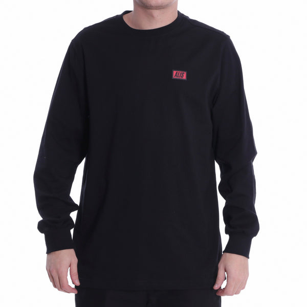 ALIS CLASSIC BOX LOGO LONG SLEEVE TEE