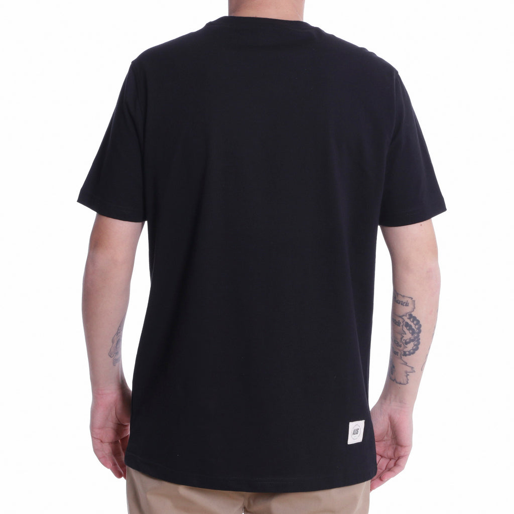 ALIS FREETOWN TEE BLACK, backside