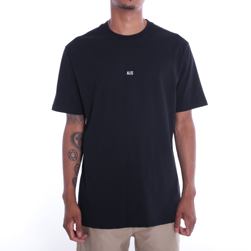 ALIS MINIATURE TEE BLACK, frontside