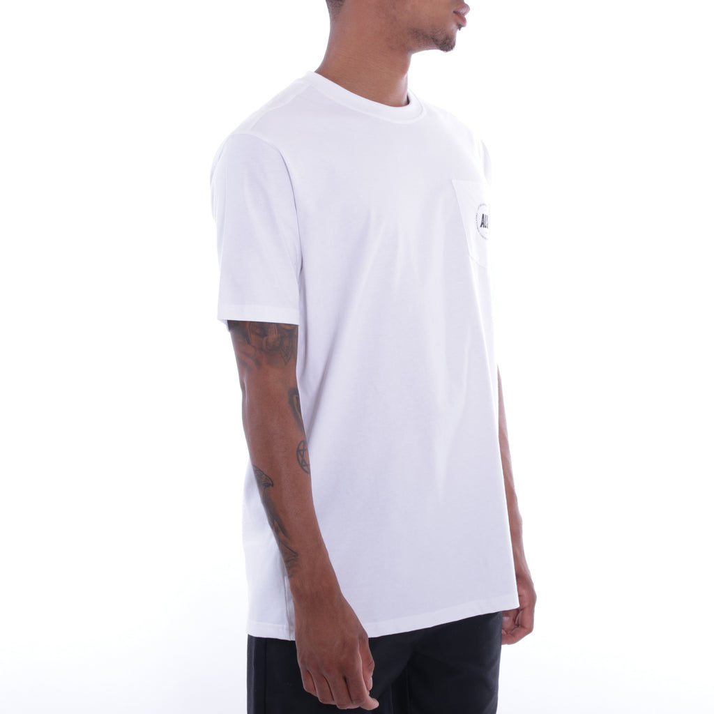 ALIS FREETOWN POCKET TEE WHITE, side