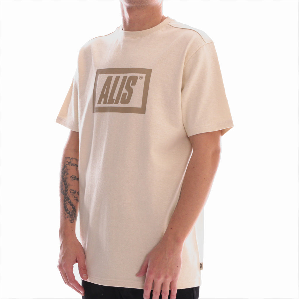 ALIS LEGALISE STENCIL BOX LOGO TEE OFF WHITE, side
