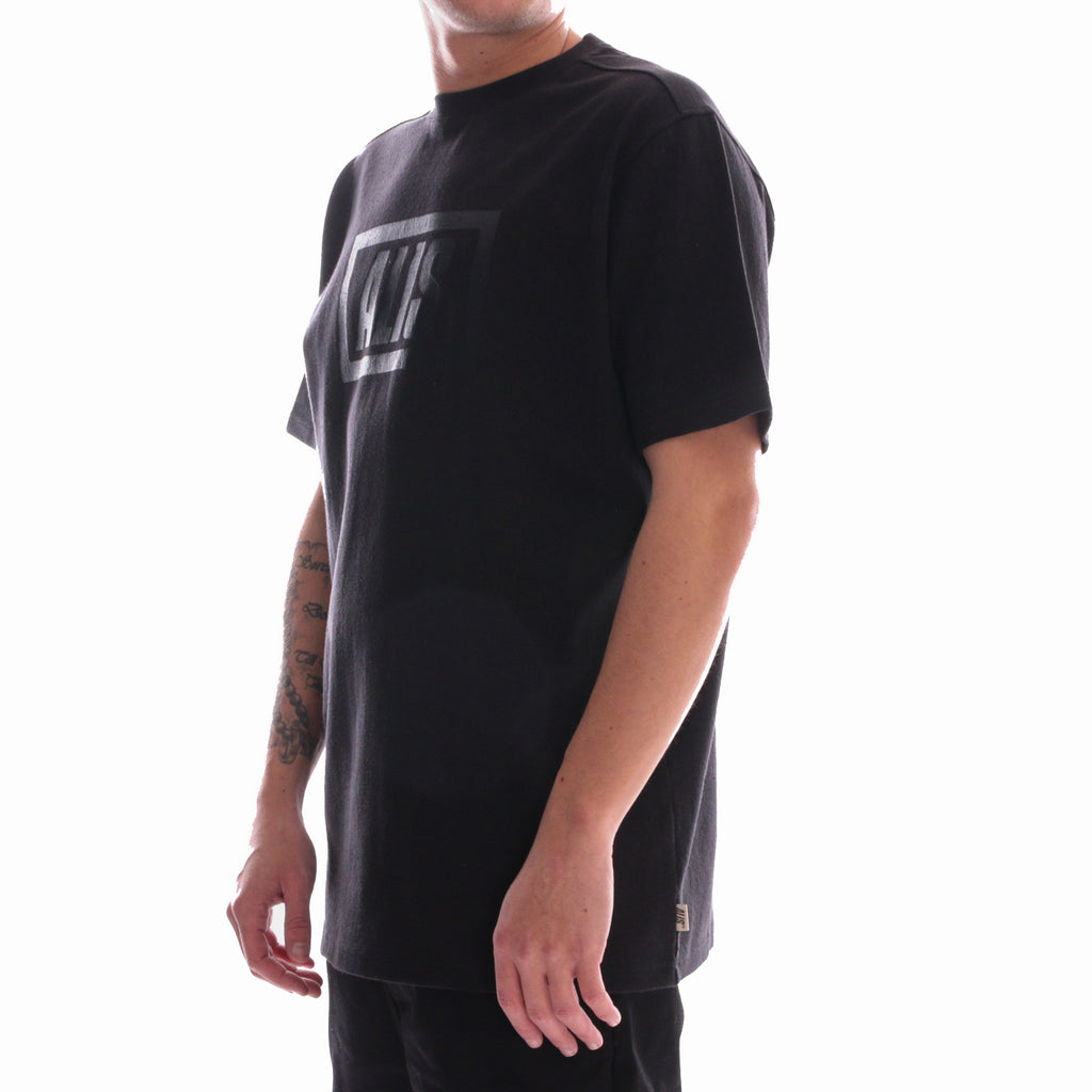 ALIS LEGALISE STENCIL BOX LOGO TEE BLACK, side