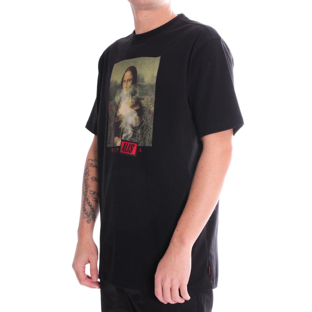 ALIS DA VINCI CODE TEE BLACK. side
