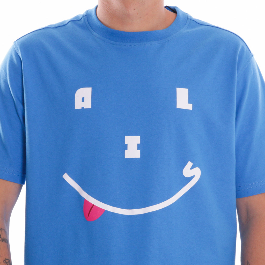 ALIS HAPPY DAYS TEE CLASSIC BLUE, print detail