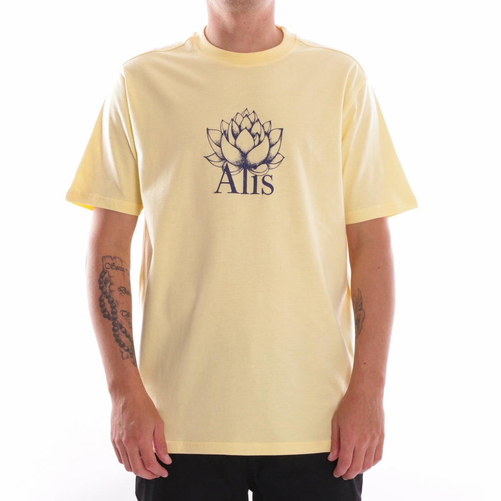 ALIS LOTUS TEE ZING YELLOW, front