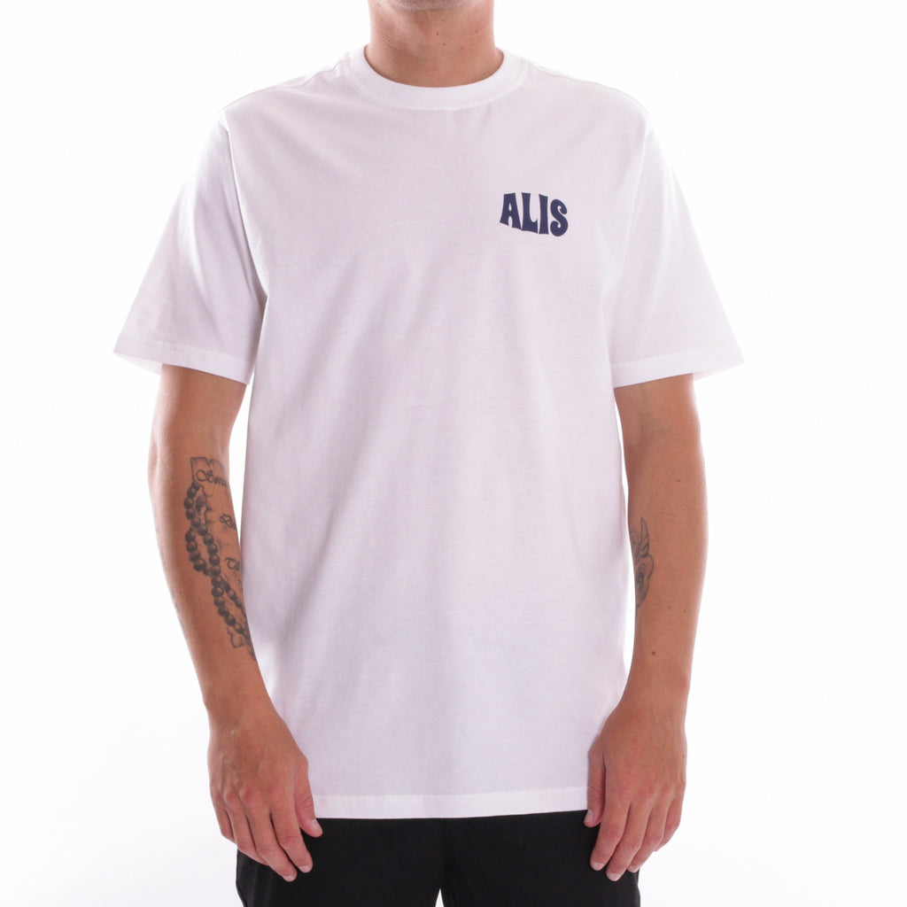 ALIS XPERIENCE TEE WHITE, front