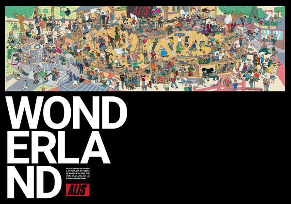 20 years of Wonderland Poster