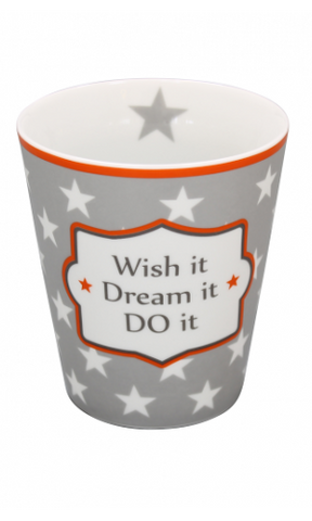 Happy mug - Whis it dream do it - Krasilnikoff