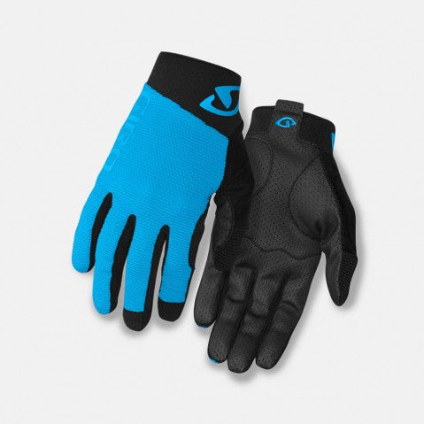 Giro Rivet Gloves (Blue) - Hunter Cycling