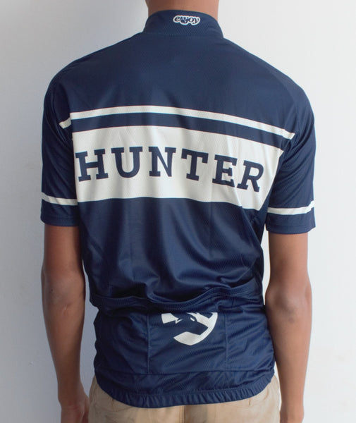 Hunter Retro Jersey - Blue and Ivory - Hunter Cycling  - 2