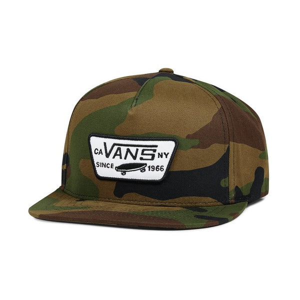 Vans FULL PATCH SNAPBACK HAT - Hunter Cycling  - 3