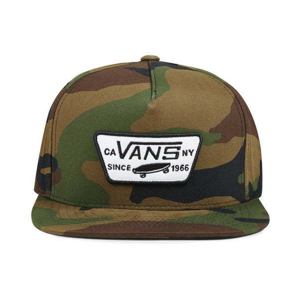 Vans FULL PATCH SNAPBACK HAT - Hunter Cycling  - 1