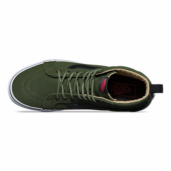Vans Military Twill SK8-HI Reissue PT - Hunter Cycling  - 2